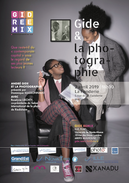 Affiche Gide Remix Photo copia