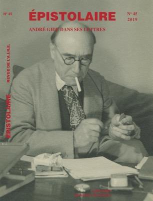 André Gide dans ses lettres DEF