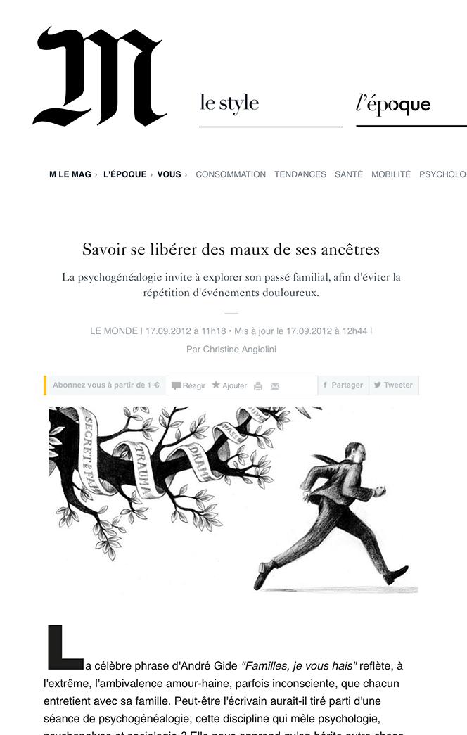 Le Monde 2012